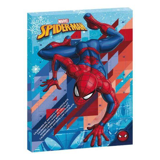 Marvel Calendrier.Marvel Spiderman Calendrier De L Avent De Chocolat Au Lait Noel 2019 Livraison Express Avant Le 25 Novembre Comics