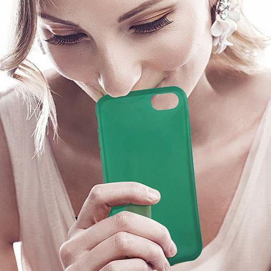 KSIX Coque de protection brillant Sense Lumen pour Iphone 7 Vert