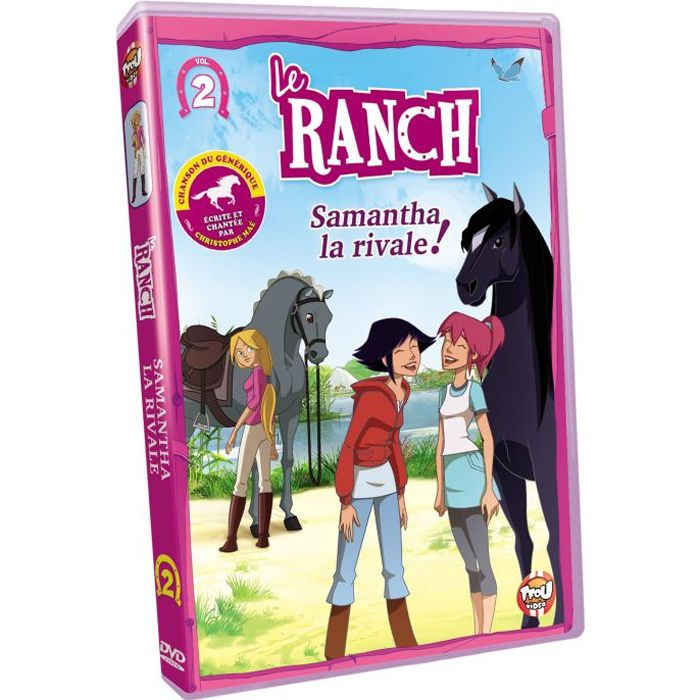 Dvd le ranch vol 2 la rivale en dvd dessin anim pas - Dessin du ranch ...