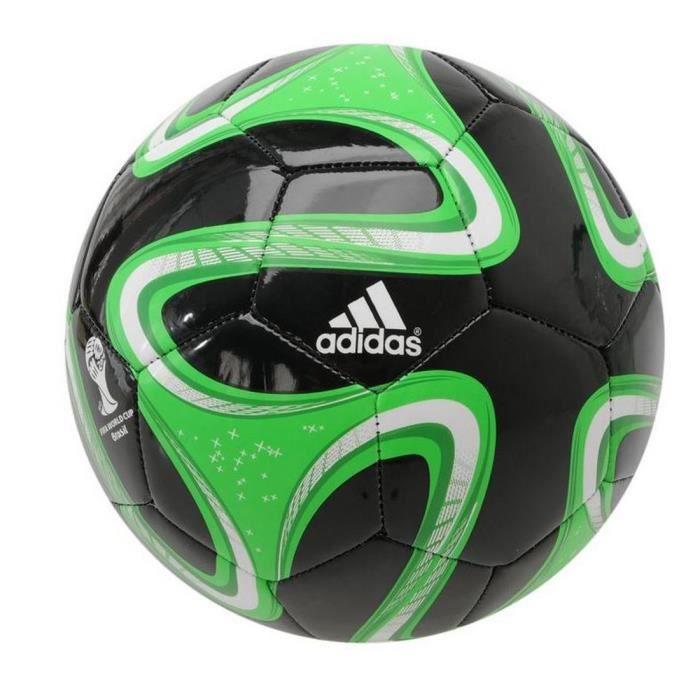 Ballon Brazuca Adidas Glider T5 Noir et Vert Coupe Du Monde de Football Brésil 2014