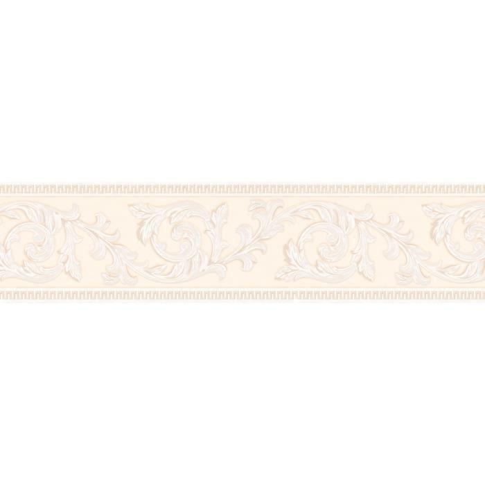 A.S. Création Frise murale autocollant Stick Ups beige crème 5,00 m x 0,13 m 906212