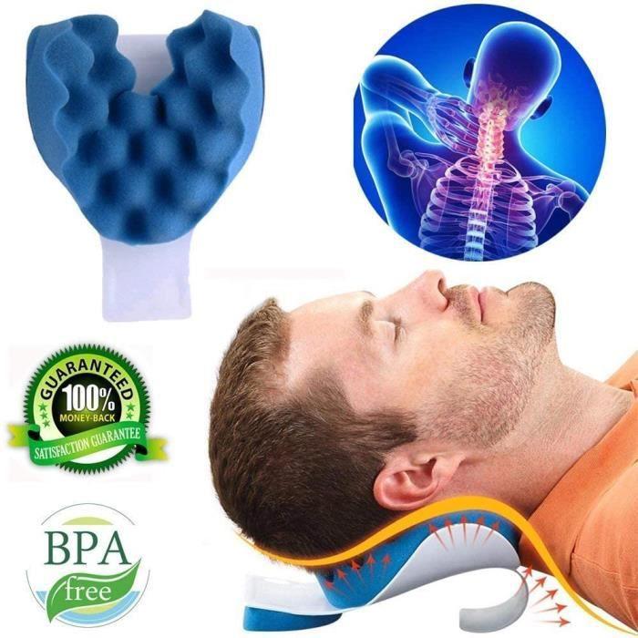 Coussin Cervical Cou Et Épaule Relaxer Cou Soulagement De La Douleur Oreiller De Massage Cou Oreiller De Traction