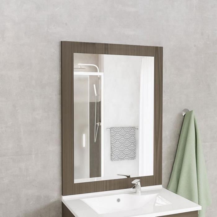 Miroir MIRALT décor vienna sans applique - 70x109 cm