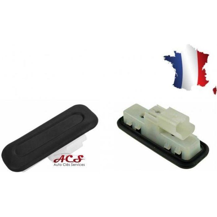 Bouton contacteur de coffre hayon Peugeot Citroen 6490R3