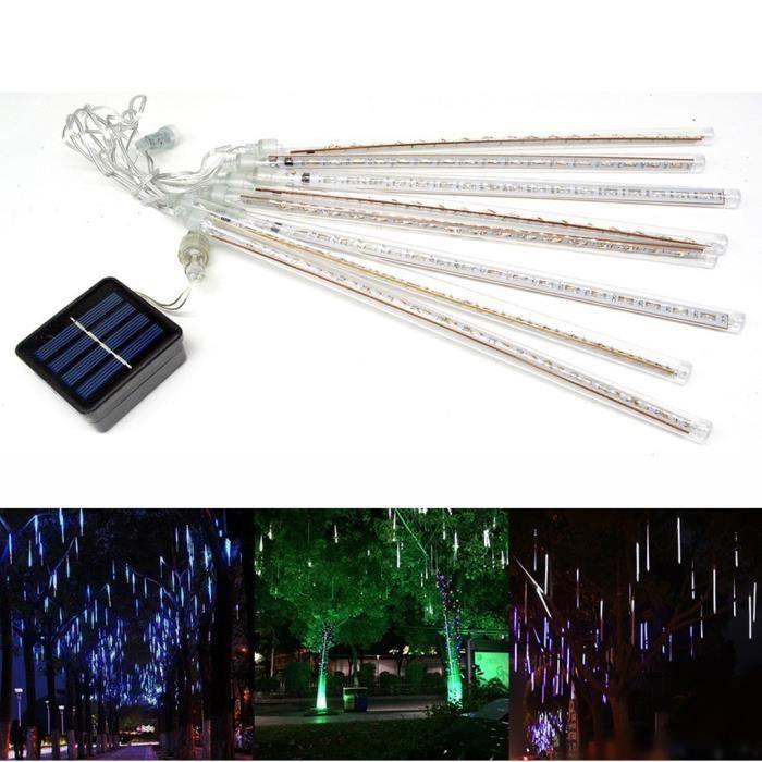 Le festival solaire de barre de lumière solaire de LED de douche de météore allume la chaîne de lumière - Modèle: B - MILEDCA13413