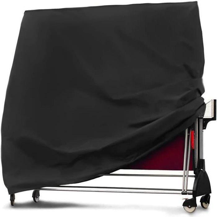 Housse De Table De Tennis De Table, Housse De Table De Ping-Pong Imperm&eacuteable, 165x70x185cm, Couverture De Meubles De Ja[66]