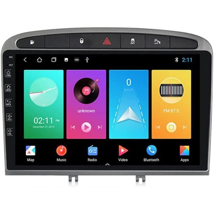 An oid 9 Autoradio Voiture Multimédia pour Peugeot 408 2010-2016 GPS Stéréo Véhicule Double dans Dash Poste Radio Voiture Sou[274]