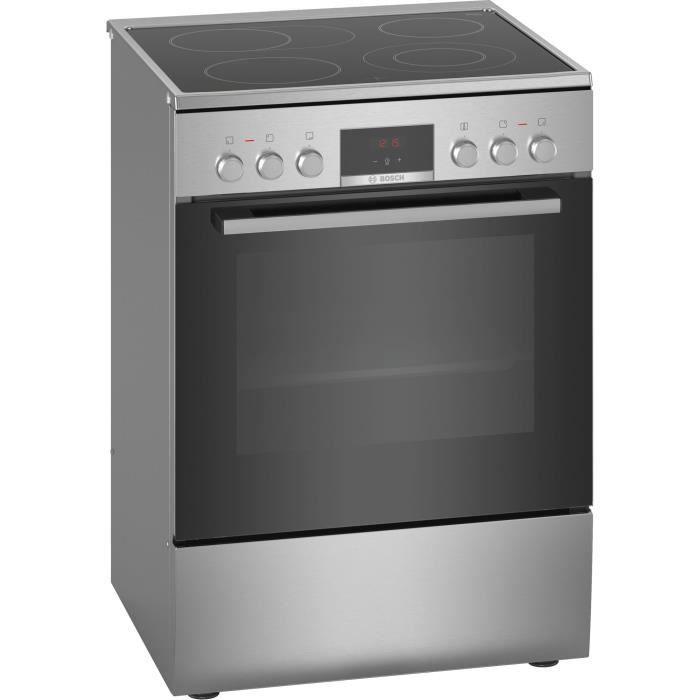 Bosch Serie 4 HKR39C250, Cuisinière, Noir, Gris, Rotatif, Tactil, Chrome, En haut à droite - gauche, 1,2 m
