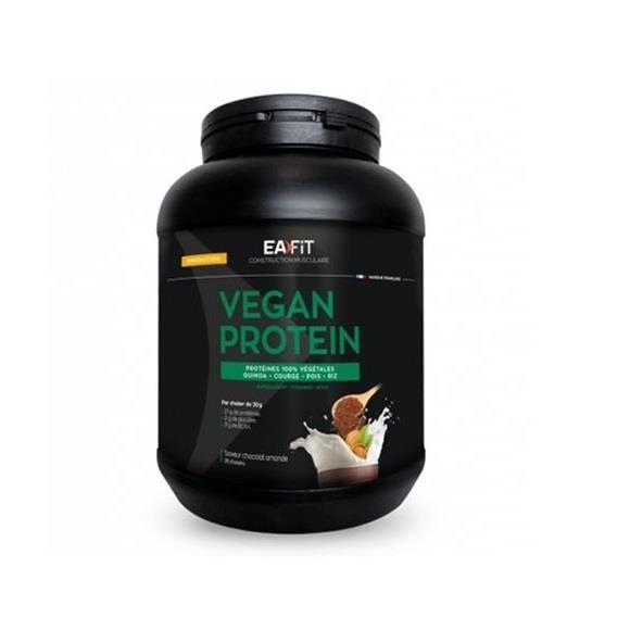 EAFIT Vegan protein - Chocolat amande 750 g