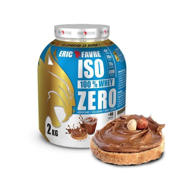 Eric Favre Iso 100% Whey Zero 2 kg - Chocotella