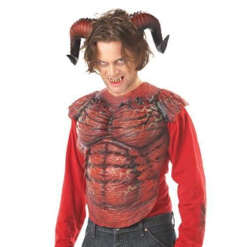 Cornes et dents de démon Halloween