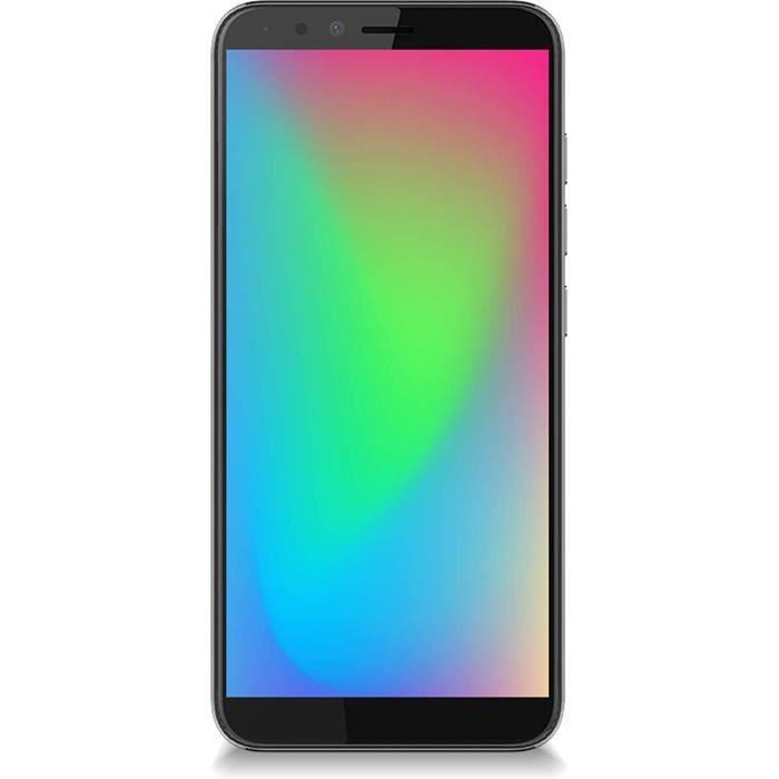 Condor Electronics Plume L3 Plus Smartphone Débloqué 4G (Octo-Core 1.4Ghz - Ecran : 5.7 Pouces - 3Go RAM - 32Go - Double SIM -
