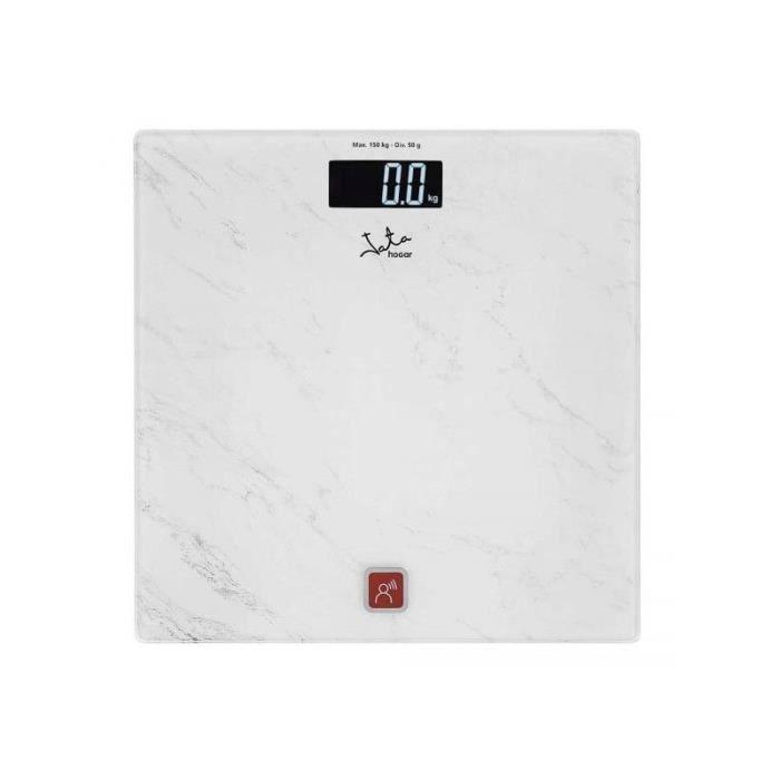 Balance Numérique Parlante de Salle de Bain JATA 517 150 kg Blanc