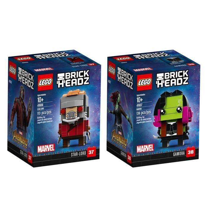 Lego Brickheadz Brickheadz Bundle 3 Kit de construction (249 pièces) Jouets Stacking 2HIHN5