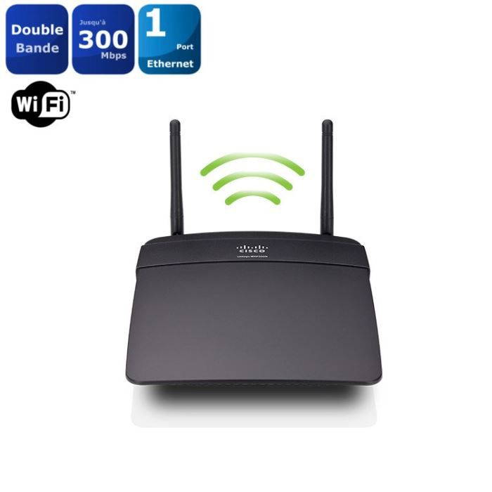 LINKSYS WAP300N Point d'accès WiFi N300 double bande