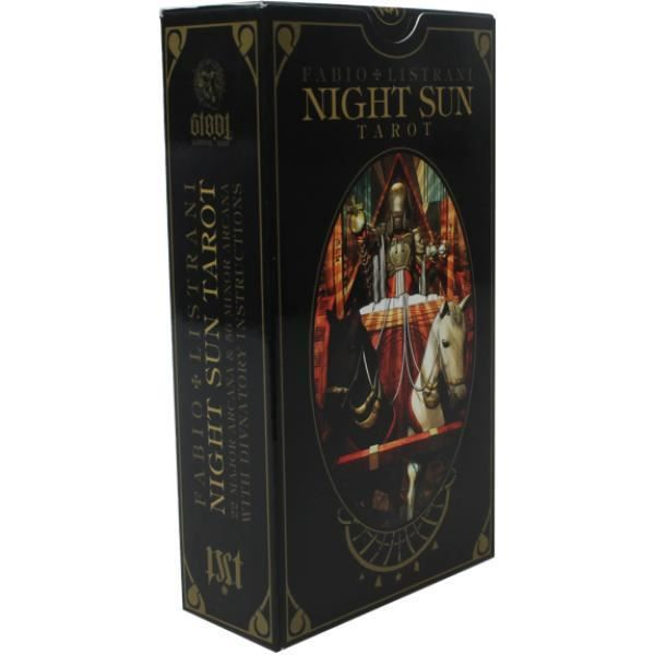Night Sun Tarot unique Multicolore