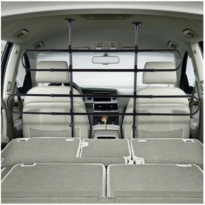 4557 Grille de séparation télescopique universel voiture 3 et 5 portes 2 pièces