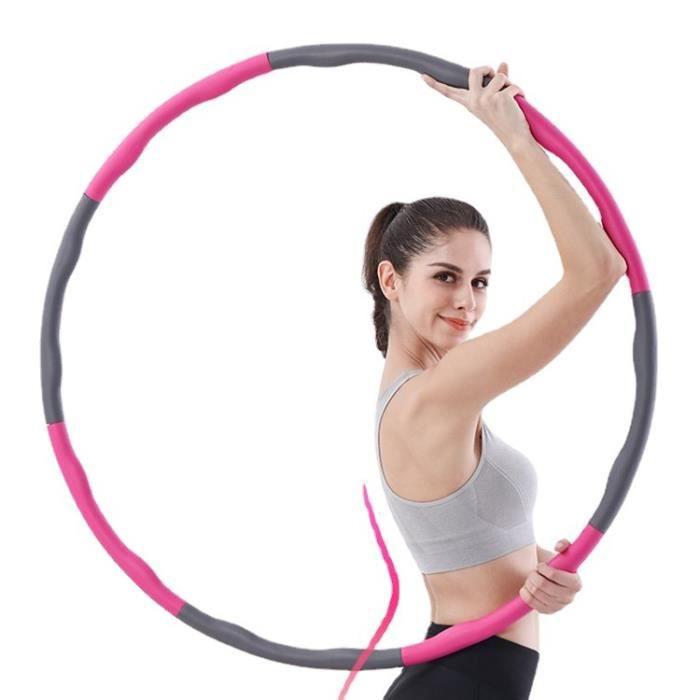Hoop Cerceaux - 8 pièces emboîtables - Anneau de fitness stable pour adultes et adolescents