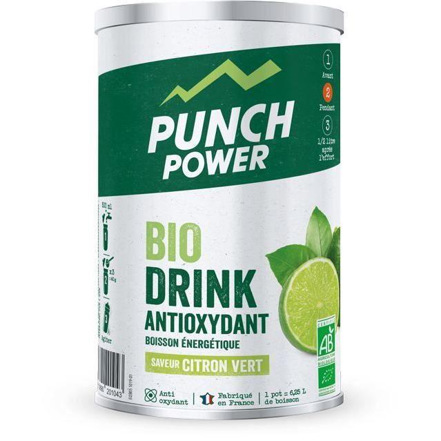 PUNCH POWER BIODRINK CITRON VERT ANTIOXYDANT - POT 500 G