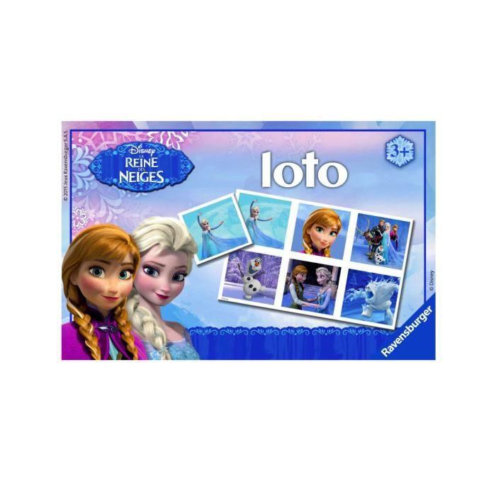 Loto : La Reine des neiges Frozen