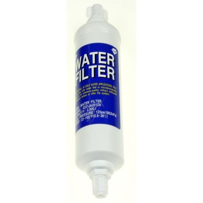 Filtre à eau externe pour réfrigérateur SAMSUNG - BVMPIECES
