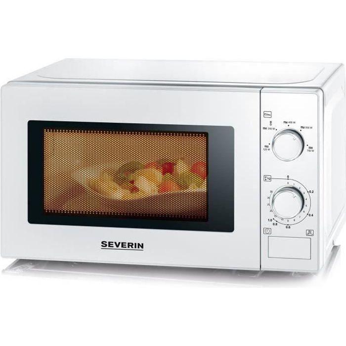 SEVERIN MW 7890 micro-ondes monofonction blanc - 20 L - 700 W - Pose libre