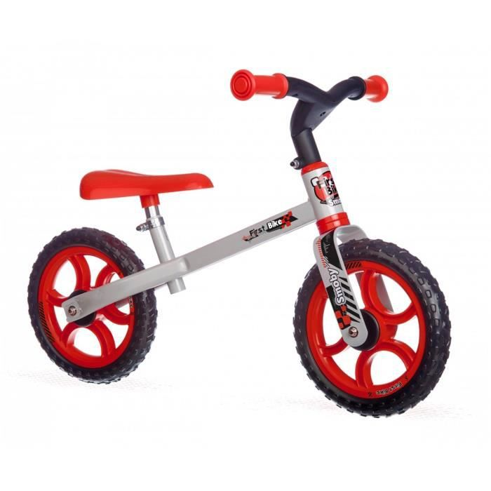 Smoby 770204 First Bike Rouge