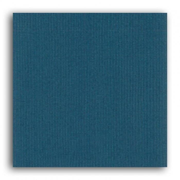 Papier uni 30x30 Mahé 2 'Toga' Bleu nuit