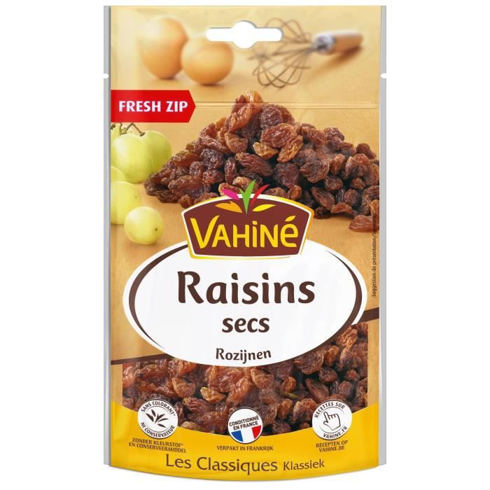 VAHINE Raisins secs - 125 g