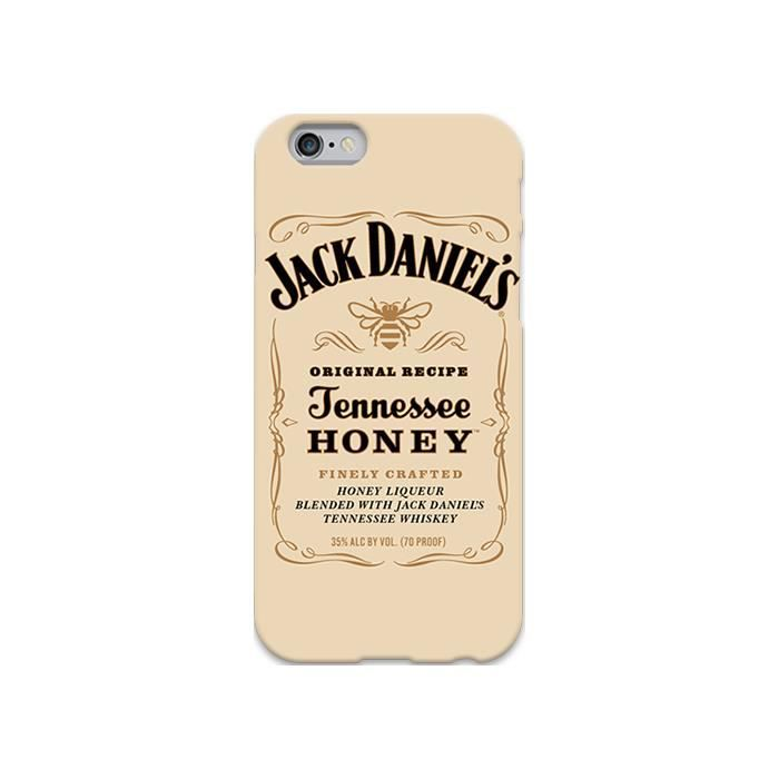 coque iphone 6 jack daniel s tennessee honey label