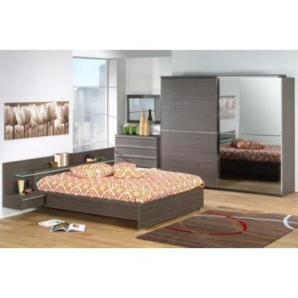 Chambre adulte compl te claudie weng achat vente lit for Chambres a coucher adultes completes