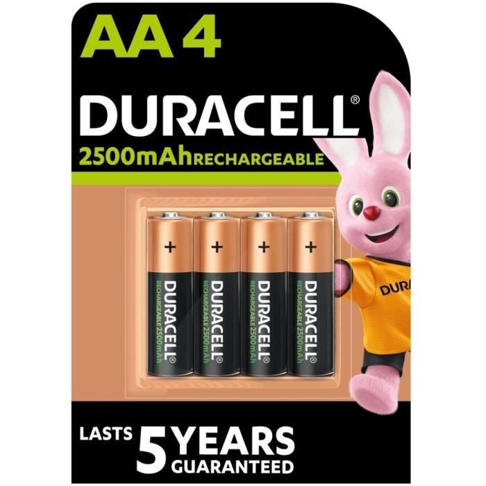 duracell piles rechargeables up aa x4 achat vente piles les soldes sur cdiscount cdiscount. Black Bedroom Furniture Sets. Home Design Ideas