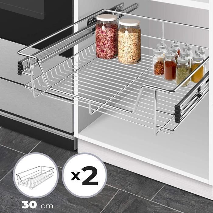 tiroir coulissant pour meuble de cuisine