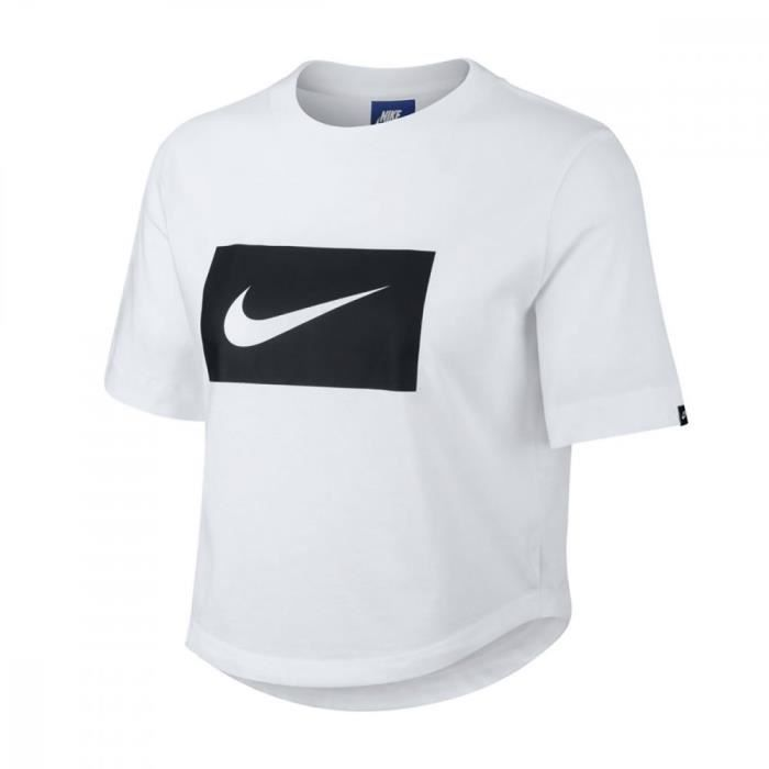 t-shirt nike femme xs