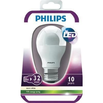 ampoule led philips claire a60 e27 8w ampoule achat vente ampoule led philips claire a60. Black Bedroom Furniture Sets. Home Design Ideas