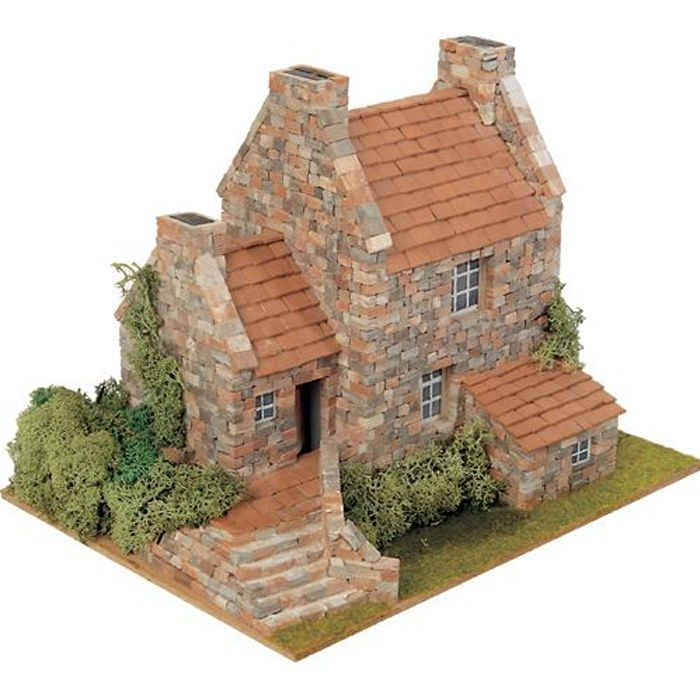Merveilleux ASSEMBLAGE CONSTRUCTION Maquette Maison COUNTRY 3 Conception Etonnante