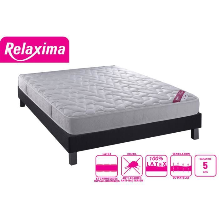 matelas 100 latex 140x190 maison design. Black Bedroom Furniture Sets. Home Design Ideas