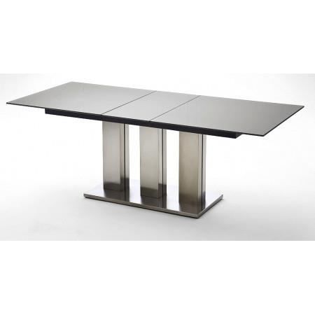 Table manger table manger extensible avec plateau en verre - Table a manger verre extensible ...
