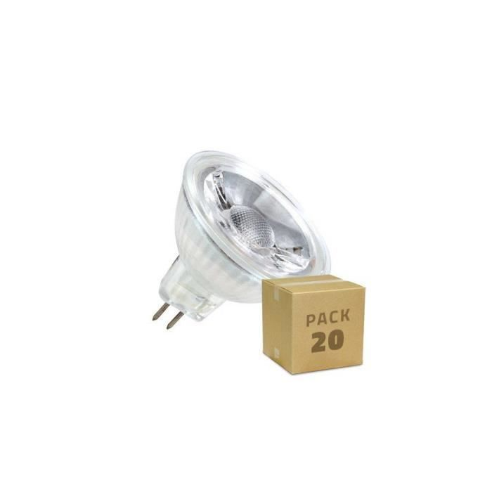 5 Un Pack Ampoules LED GU5.3 MR16 COB Crystal 220V 45º 5W