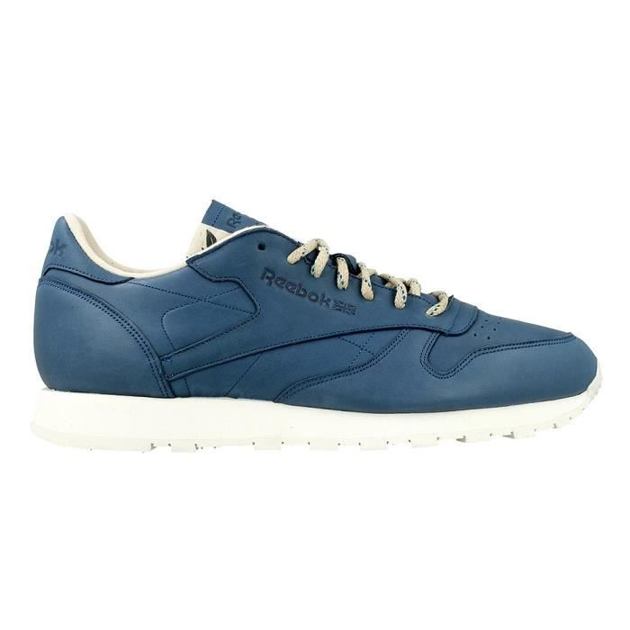 Chaussures Reebok CL Leather Eco Botanical Bluechalk v9VCaY