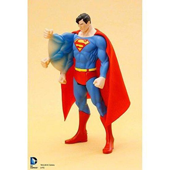 Statue DC Universe Superman Classique Costume ARTFX Entièrement Neuf dans sa boîte