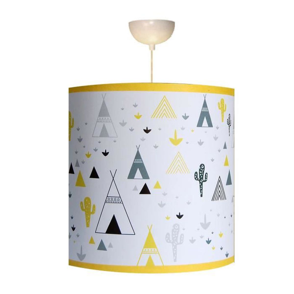 suspension enfant dans mon tipi en jaune achat vente suspension enfant dans mon cdiscount. Black Bedroom Furniture Sets. Home Design Ideas
