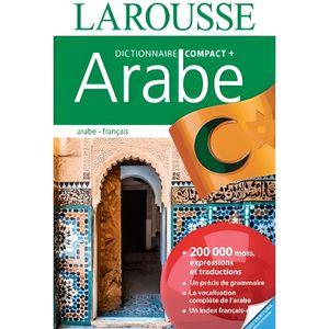 LIVRE LANGUES RARES Dictionnaire Compact plus Français-Arabe/Arabe-Fra