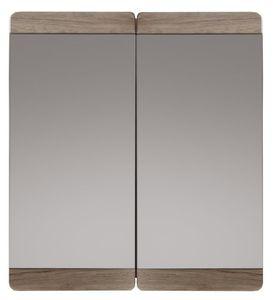 ARMOIRE DE TOILETTE Armoire de salle de bain avec miroir 2 portes 70 c