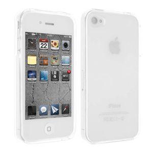 coque silicone gel apple iphone 4 4s transparent