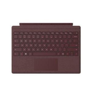 CLAVIER D'ORDINATEUR Microsoft Type Cover Surface Pro - Bordeaux