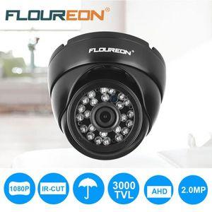 CAMÉRA IP Caméra IP de Surveillance Dôme FLOUREON 1080P Anti