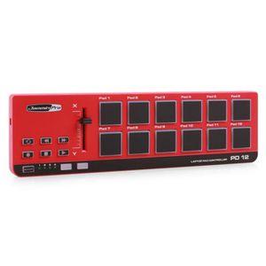 TABLE DE MIXAGE Jammin Pro PD-12 Contrôleur MIDI 12 drumpads
