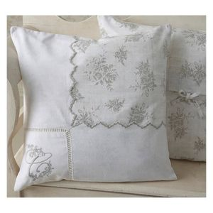 Coussin shabby chic achat vente coussin shabby chic for Rideaux shabby pas cher