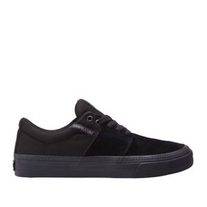 SUPRA VULC black II STACKS HF Chaussures Black OwxdW